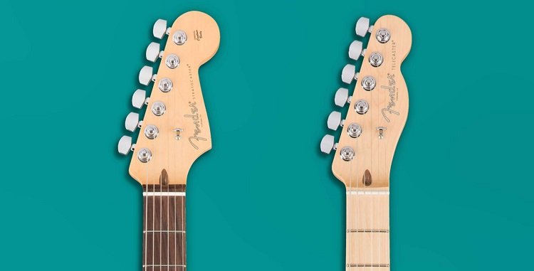 Telecaster vs Stratocaster neck differences