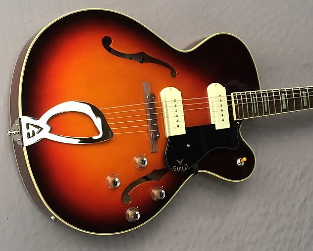 rare electric guitars Guild X-175 Manhattan