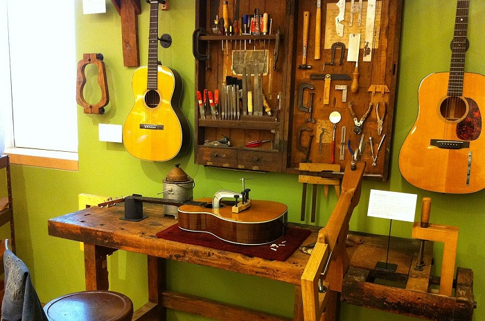 martin guitars workshop