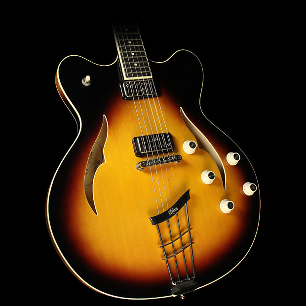 rare electric guitars hofner verythin
