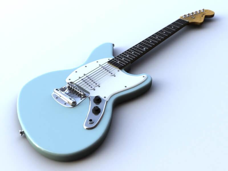 Fender Jagstang light blue