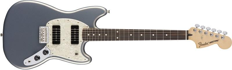 Fender Mustang 90 Silver