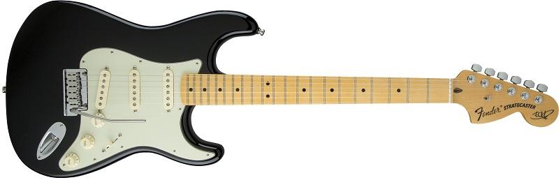 Fender Stratocaster black and white