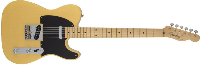 Fender Telecaster natural and black