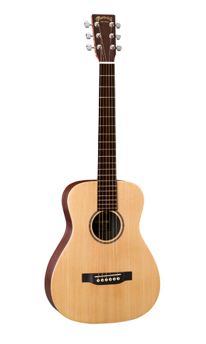 mini martin guitars LX1E model