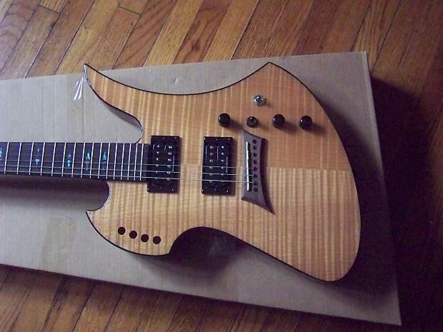 rare electric guitars b c rich mockingbird