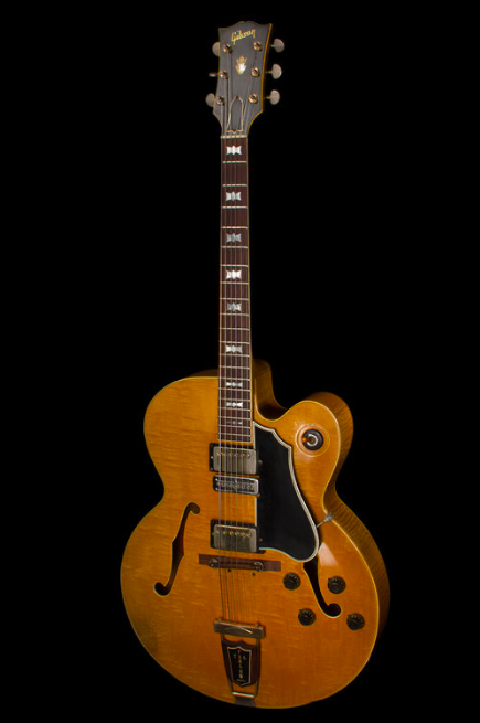 Photo: Tal Farlow's prototype for a Gibson jazz guitar he called the BLonde