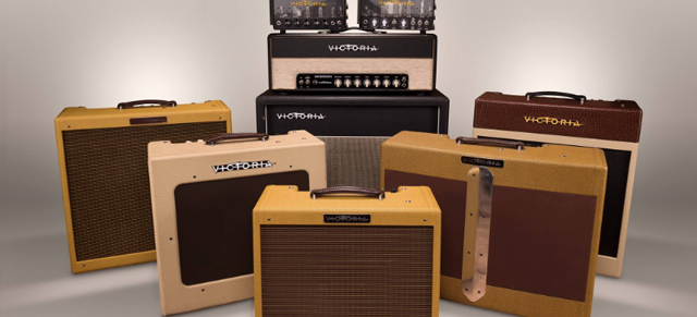 Victoria Amps Brings That Fender Tweed Sound Back to the Future (Video)