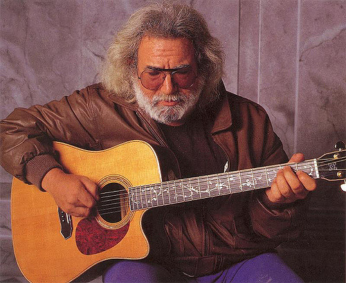 A Brief Jerry Garcia Guitar History